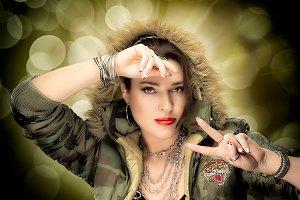 Beauty Hip Hop Girl