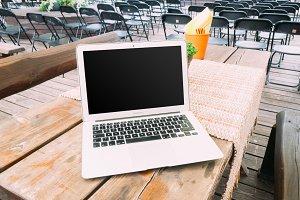2 PSD + Hi-Res JPG Laptop Mockups