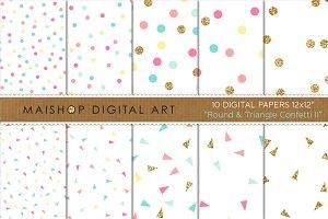 Digital Paper - Confetti II