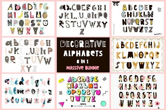 Decorative Alphabets Bundle