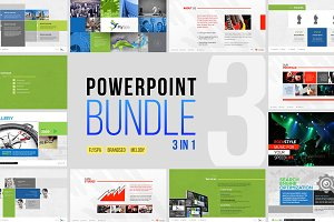 Minimal Business Powerpoint Bundle