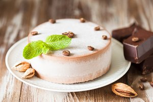Coffee ice cake