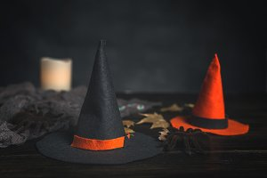 Halloween decoration background