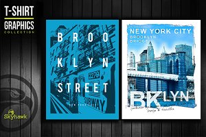 New York tee shirt graphics