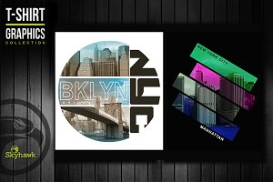 New York tee shirt graphics
