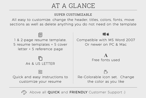 What Is A Good Resume Word Resumecv Template  Resume Templates  Creative Market Resume Order Of Jobs with Mechanic Resume Template  Nanny Description For Resume Word