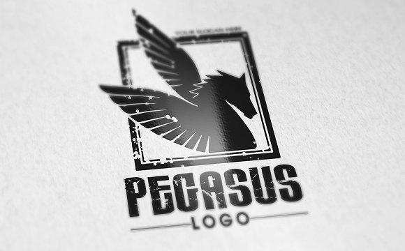 WT Pegasus V1 Logo Template