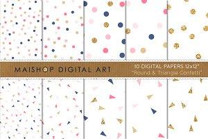 Digital Paper - Confetti