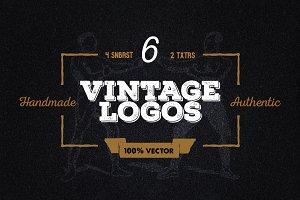 6 Vintage Logos + other stuff