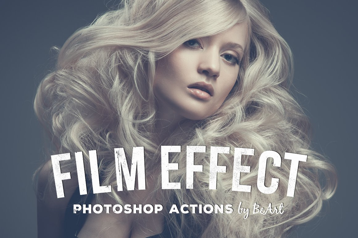 Film effect photoshop actions actions creative market