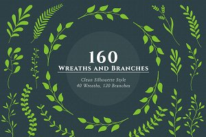 160 Wreaths and Branches