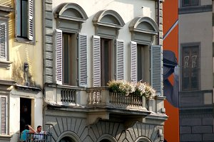 Florence Italy Windows
