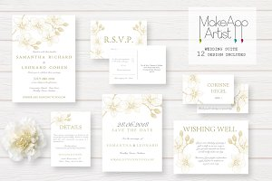 Wedding Invitation Suite - Samantha
