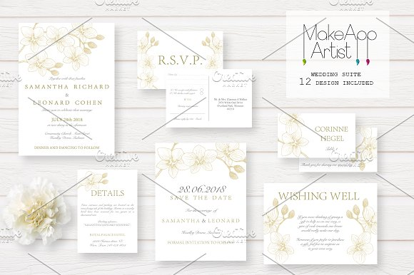 Wedding Invitation Suite Samantha
