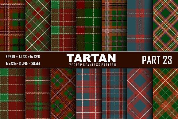 Seamless  Tartan Pattern Part - 23