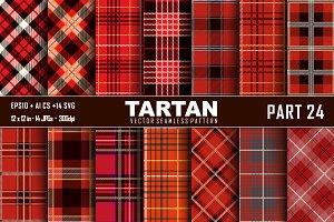 Seamless  Tartan Pattern Part - 24
