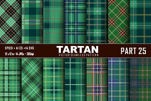 Seamless  Tartan Pattern Part - 25