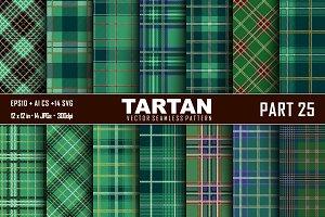 Seamless  Tartan Pattern Part - 25