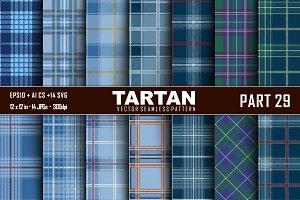 Seamless  Tartan Pattern Part - 29