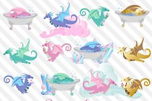 Dragon Sweets Clipart