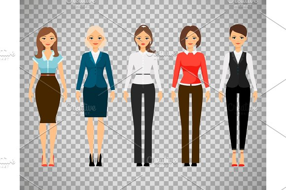 Women In Office Dress Code Clothes