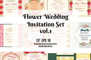 Floral Wedding Design Template
