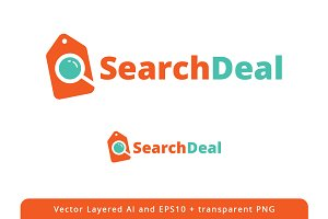 Search Deal logo design