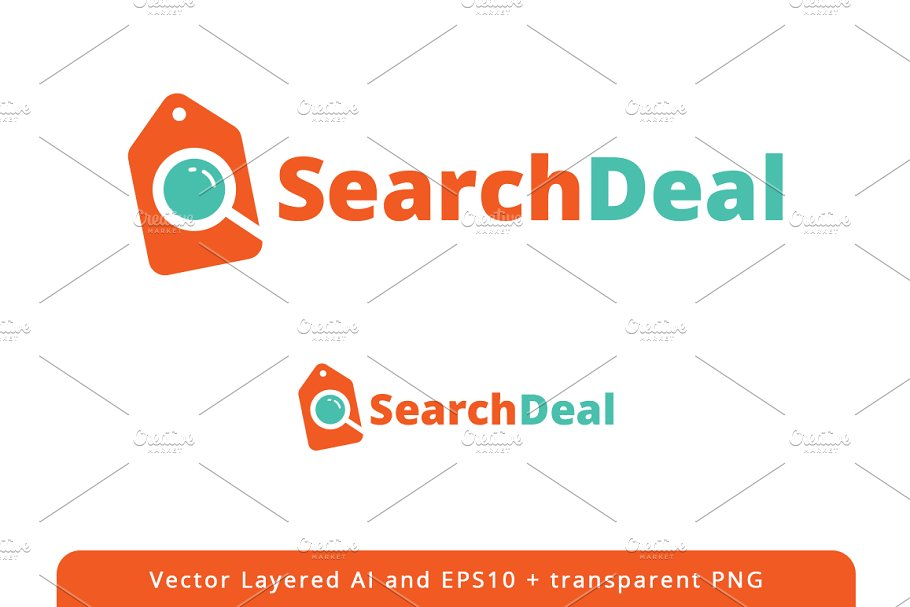 Search Deal logo design in Logo Templates - product preview 8
