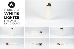 6 Photos of a White Lighter