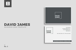 Minimalist Business Card No. 3