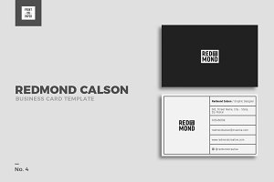Minimalist Business Card No. 4