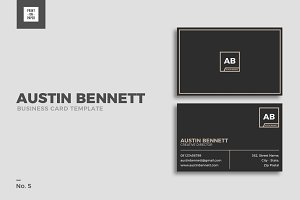 Minimalist Business Card No. 5