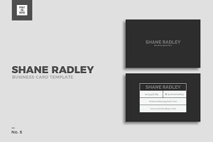 Minimalist Business Card No. 6