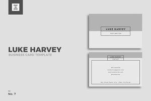 Minimalist Business Card No. 7