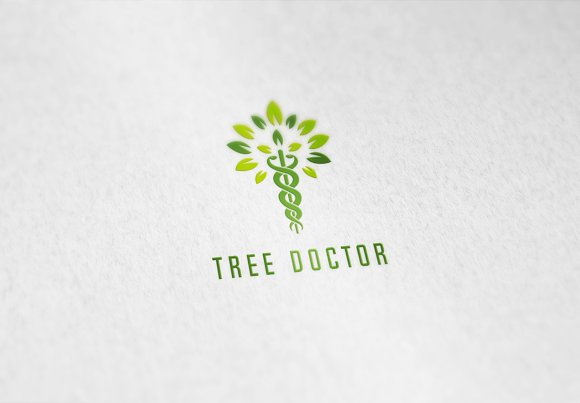 Tree Doctor Arborist Logo