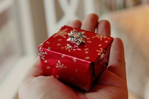 Tiny Red Present