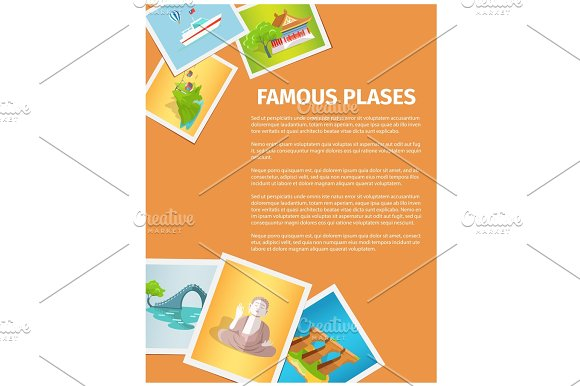 Concept Of Famous Places In Taiwan On Photographs