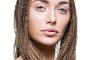 Beautiful girl with natural make-up