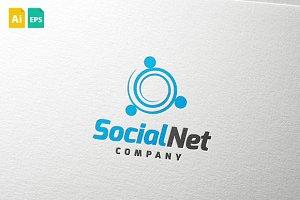 SocialNet Logo