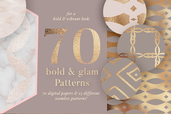 70 Bold Golden Patterns