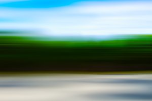 Horizontal blurry abstract happy landscape background backdrop