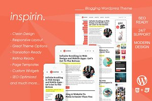 Inspirin : Blogging Wordpress Theme