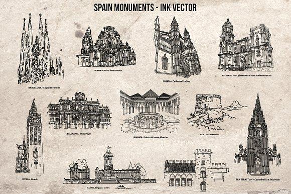 Spain Monuments Vol 1