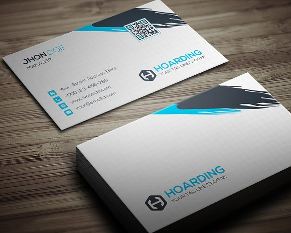 Hoarding Business Card-Graphicriver中文最全的素材分享平台