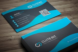 Clute Biz Business Card