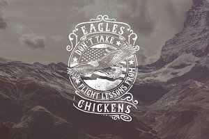 Eagle Don't Take Flight Lessons