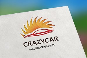 Crazy Car Logo