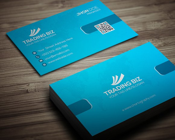 Trading Biz Business Card