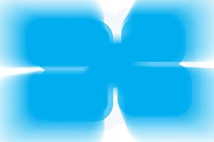 Horizontal blue cyan business abstract illustration background