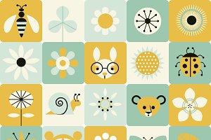 Spring Icon Vectors